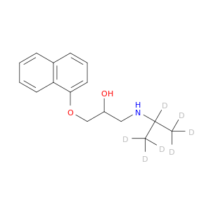 318-98-9 | MFCD00012558 | [2-hydroxy-3-(naphthalen-1-yloxy)propyl ...