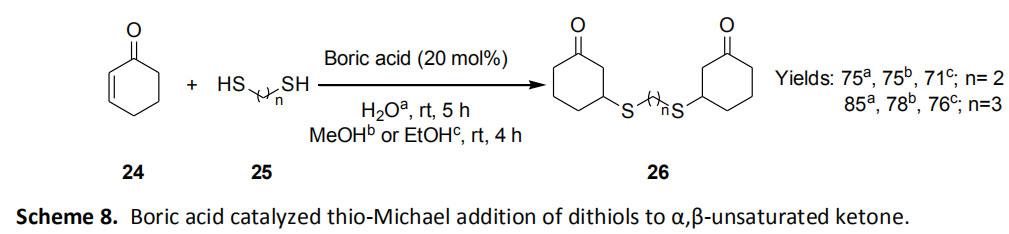 Boric Acid Organic Synthesis